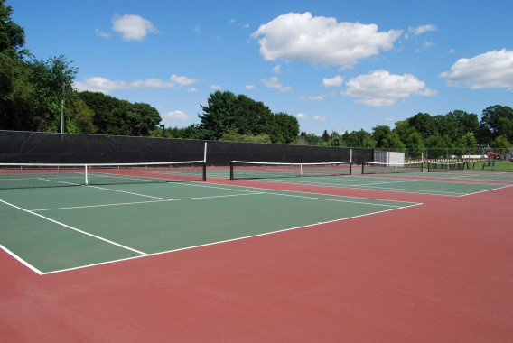 テニスに熱中した夏の疲れ
